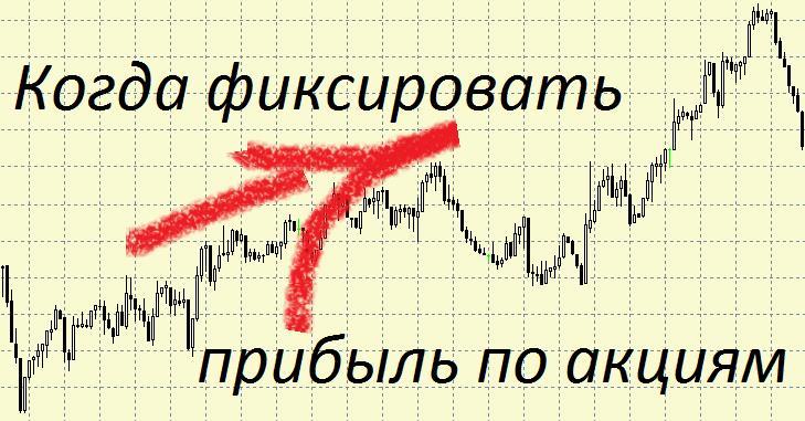 Когда фиксировать прибыль в торговле акциями?