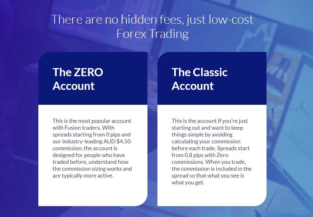 fusion markets торговые аккаунты