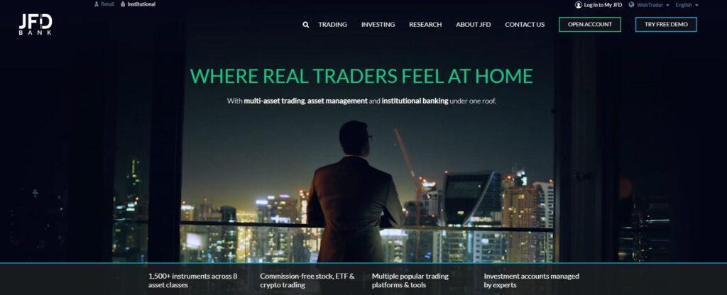 брокерская компания jfd brokers