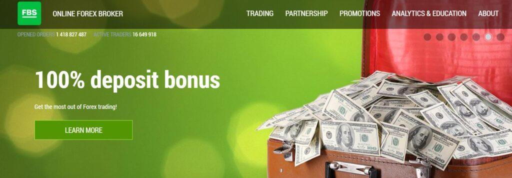 fbs бонус к депозиту