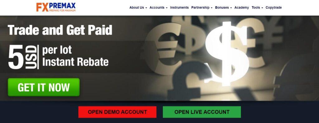 официальный сайт fxpremax
