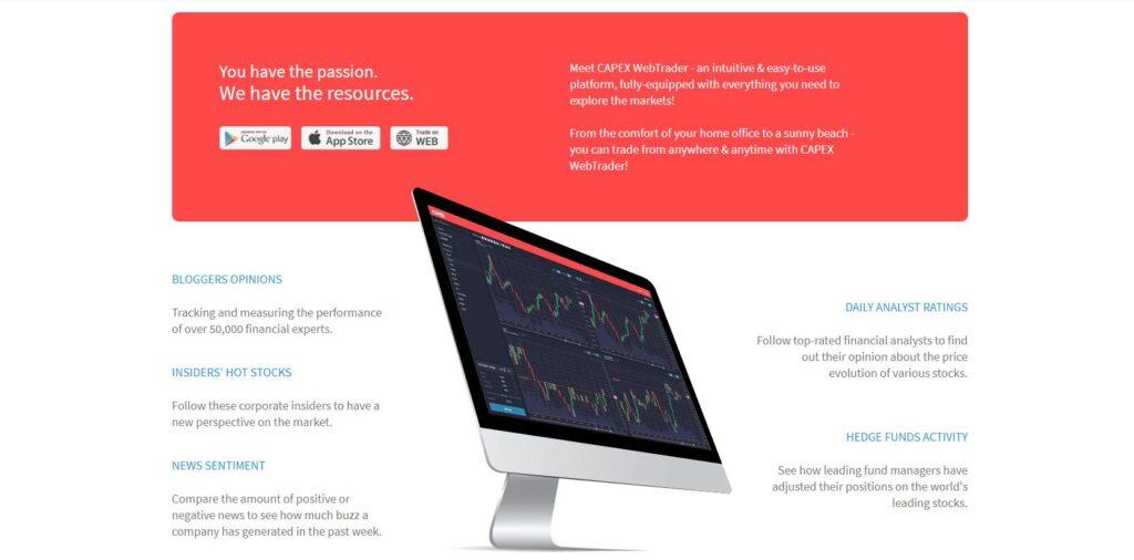 обзор брокерской деятельности capex.com