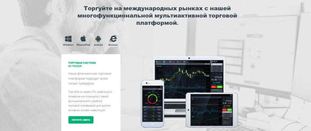 kiexo торговая платформа