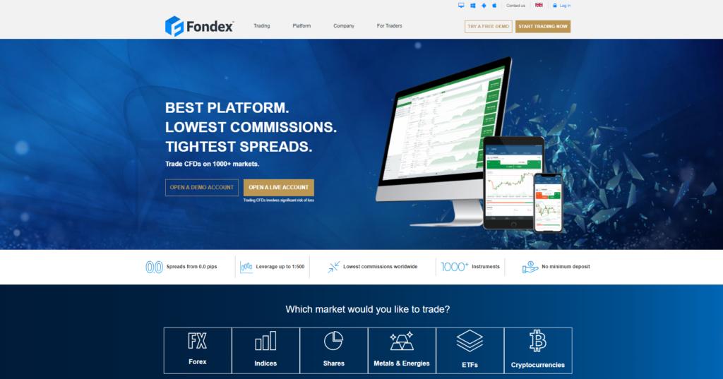 официальный сайт fondex