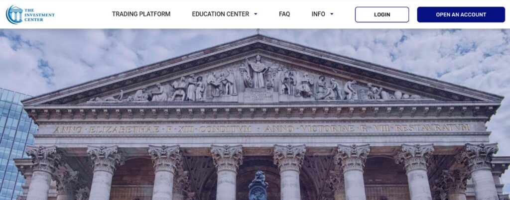 сайт брокера investment center