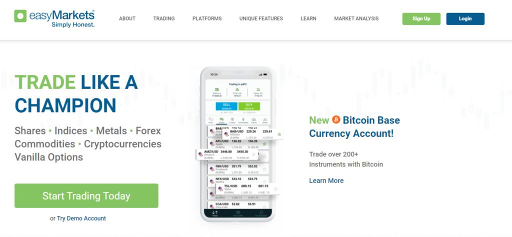 easymarkets официальный сайт