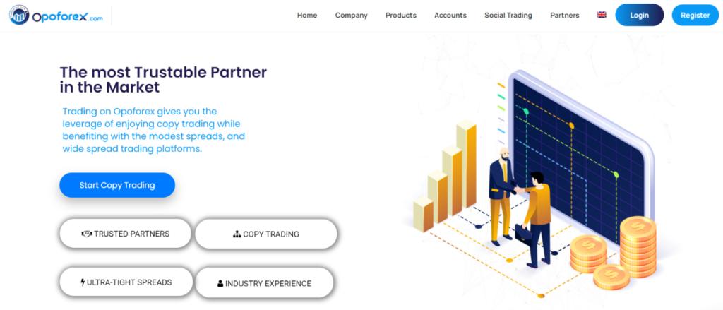 opoforex официальный сайт брокерской компании
