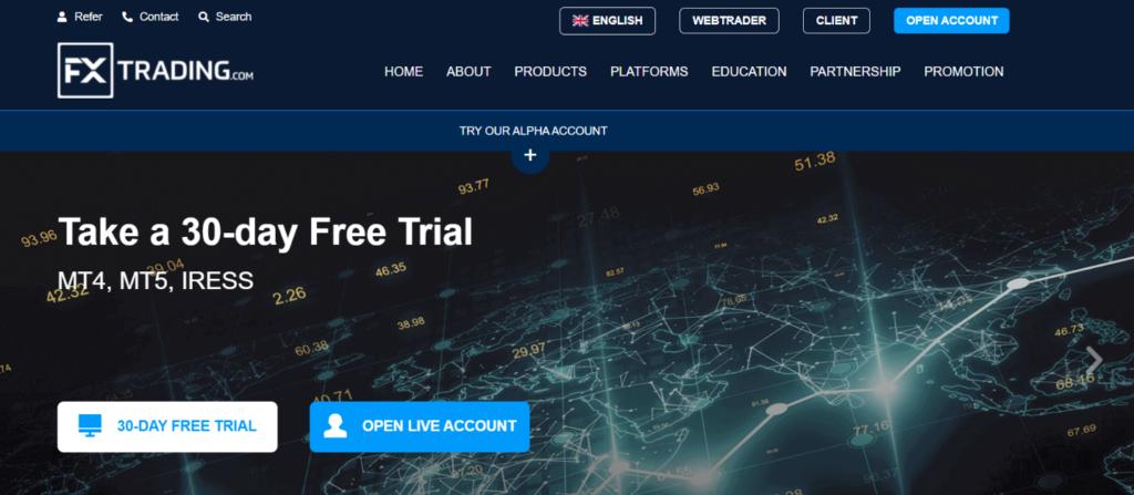 сайт компании fx trading.com